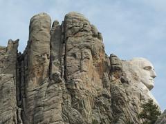 Mount Rushmore National Memorial, SD (twiga_swala) Tags: mt rushmore national memorial granite carving sd south dakota americana george washington geology batholith peak harney faces black hills landscape scenery custer erosion relief