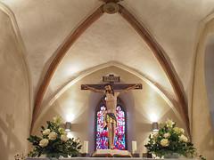 Rückkehr (Paramedix) Tags: fluorn germany deutschland badenwürttemberg olympus em5 mft crucifix kruzifix kirche church