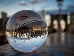 Brooklyn Bridge (TS_1000) Tags: newyorkcity newyork brooklynbridge manhattan nyc ny crystalball kugel kugelfoto magicball rund glaskugel glas