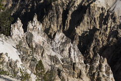 "Rock formations along the Grand Canyon of the Yellowstone • <a style=""font-size:0.8em;"" href=""http://www.flickr.com/photos/63501323@N07/31050032672/"" target=""_blank"">View on Flickr</a>"