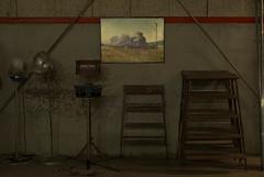 En del attiraljer och en affisch (arkland_swe) Tags: sverigesjrnvgsmuseum gvle poster affisch lok locomotive train tg prylar fs161127 fotosondag fotosndag