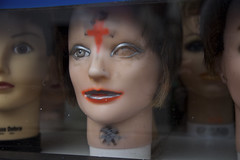 Good Eye (Generik11) Tags: sf mannequins makeup creepy heads sfist