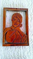 Jpeg (José Argemiro) Tags: quadro musical viola música decoração madeira parede artista sertão violão cordas instrumento tocador seresteiro