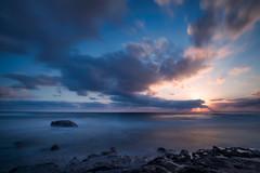 (Alessandro Pischedda) Tags: sardegna sunset sea beach nikon long exposure mare sardinia d800 oristano caprera magomadas pischedda