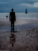 Formby beech & Gormley statues (47 of 71) (andyyoung37) Tags: sea silhouette reflections anotherplace gormleystatue crosbybeech