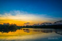 9/6 高屏鐵橋夕陽 (chentgo) Tags: sunset 夕陽 settingsun 高屏鐵橋 高屏溪夕陽 ironrailway 高屏鐵橋夕陽