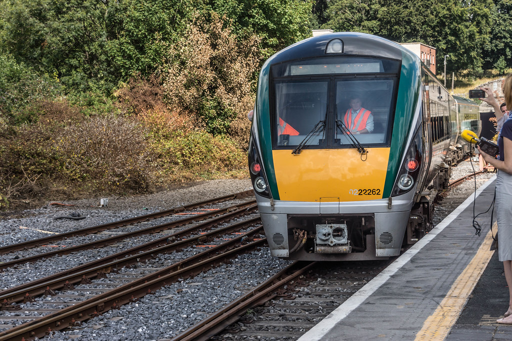 THE MINISTER PLUS PLATFORM 10 AND THE PHOENIX PARK RAILWAY TUNNEL [NOT FORGETTING IRISH RAIL STAFF] REF-107127