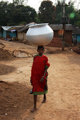 Local woman in the tribal village of Maliguda - Odisha (sensaos) Tags: travel india countryside asia culture tribal tribe ethnic orissa cultural indigenous 2013 odisha sensaos