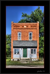 Silverwood MI (the Gallopping Geezer '5.0' million + views....) Tags: building brick abandoned mi canon closed close decay michigan structure business faded vacant storefront worn weathered tamron backroads silverwood decayed smalltown geezer corel 6d 28300 2015
