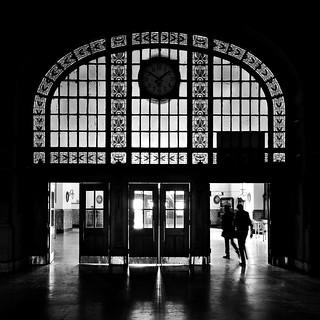 Monochrome Haydarpaşa Inside