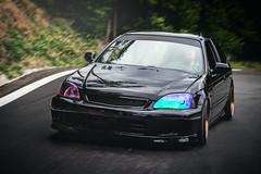 Honda Civic EK4 (Luky Rych) Tags: road black forest canon honda low wheels fast civic 16 jdm stance rota vti ek4 100d speedhunters stanceworks 195hp