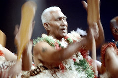 28-771 (ndpa / s. lundeen, archivist) Tags: nick dewolf nickdewolf color photographbynickdewolf 1972 1970s film 35mm 28 reel28 southpacific pacificislands oceania tradition traditional culture pacificislandculture southpacificislands suva fiji festival southpacificfestival southpacificfestivalofarts festivalofpacificarts pacificartsfestival festpac southpacificartsfestival costume costumes performance performers fijian people clothes clothing group dancers dancing stage oar paddle oars paddles man men flowers lei leis skirts ribbons movement motion blurry outoffocus fiji72 blur