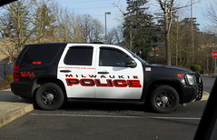 Milwaukie (policecarsoforegon) Tags: oregon blackwhite flickr northwest or police vehicles pacificnorthwest dodgecharger clackamascounty chevrolettahoe policecarsoforegon milwaukiepolicedepartment httppolicecarsoforegonwixcompolicecarsoregon lawenforcementvehiclesoforegon