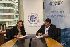 Grupo Eulen firmó adherencia a Red Pacto Global Chile