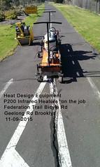 07 Vic Road Demo Work Federation Trail Geelong Rd Brooklyn 11-09-15