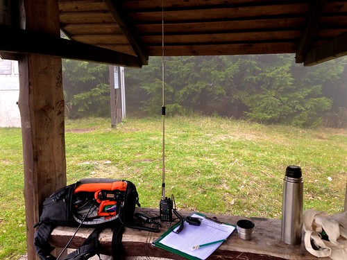 Borówkowa: stanowisko operatora / HAM radio station