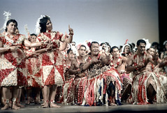29-102 (ndpa / s. lundeen, archivist) Tags: people color men film festival fiji 35mm point clothing hands women sitting dancers dancing finger stage traditional nick fingers group performance feathers culture suva clothes southpacific 29 tradition 1970s pointing performers 1972 seated dewolf oceania fijian pacificartsfestival pacificislands festivalofpacificarts southpacificislands nickdewolf photographbynickdewolf festpac pacificislandculture southpacificfestival reel29 southpacificartsfestival southpacificfestivalofarts fiji72 feathersintheirhair