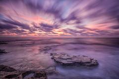 Nubes despeinadas (Pedro Agull) Tags: alba paisaje amanecer largaexposicin cabocervera nubesviajeras