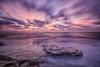 Nubes despeinadas (Pedro Agulló) Tags: alba paisaje amanecer largaexposición cabocervera nubesviajeras
