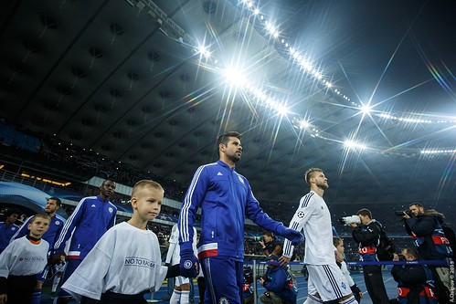 Diego Costa and Andriy Yarmolenko / Диего Коста и Андрей Ярмоленко