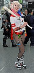 Harley at the Bat NYCC 2015 (Mike Rogers Pix) Tags: new woman anime comics wonder bill dc kill cosplay manga harley superhero quinn cosplayer comiccon comicon con nycc deadpool yorcomic