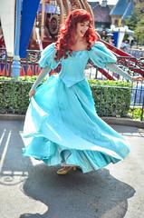 Princess Ariel (EverythingDisney) Tags: ariel dress princess disneyland disney twirl dlr thelittlemermaid princessariel