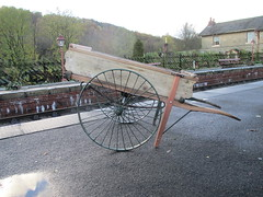 The repaired North Eastern hand cart 7Nov15