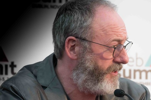 WEB SUMMIT 2015 - LIAM CUNNINGHAM MEETS THE PRESS [ACTOR]-109586