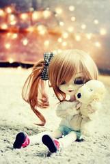 Best Friends ~ (Dekki) Tags: cute fashion asian doll eyelashes luna queen groove pullip lunatic rewigged rehipped