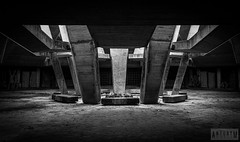 Knoll of Fraternity Memorial Complex (AntonyCASAFilms) Tags: abandoned concrete memorial sofia statues fraternity bulgaria soviet russian knoll complex hillock