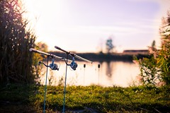 Magic Fishing (icemanphotos) Tags: sunset art fishing bokeh magic rod serene fullframe lure sigmaart