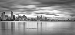 """Mersey Reflections"" (Ray Mcbride Photography) Tags: cityscape seafront 3graces rivermersey liverpoolskyline"