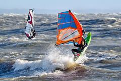 PC311727-Edit (Brian Wadie Photographer) Tags: gulls oystercatcher windsurfing kiting em1 goodlight 14xtc avonbeach canon70300lis hemgistburyhead