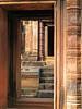An Ancient Doorway (Ellsasha) Tags: door architecture canon temple cambodia angkorwat doorway shiva hindu banteaysrei redsandstone canonpowershota620 khmerart