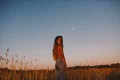 Long Lost Summer (Dean Raphael) Tags: portrait peoplemood people mood summer moon bokeh love soul women woman tan model hair grass field landscape boke cinema cinematic emotion motion depth dof
