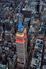 Empire (Dwood Photography) Tags: manhattan new york nyc newyorkcity city big apple bigapple empire state building empirestatebuilding 2016 heli helicopter blue red buildings
