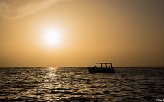 Hazy Sunrise (Vitaliy973) Tags: summer fx nikon morning sunrise hazy ocean atlanticocean atlantic costadorado puertoplata republicadominicana dominicanrepublic caribbean