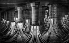 ...et inversement... (Janick Lanier) Tags: arches bw janicklanier lenvers upsidedown abstract