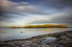 What's in a name? (Perkvats Havatkov) Tags: le longexposure eosm muck islandmagee sunset sea shore island rockpool