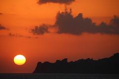 The Setting Sun (Alan1954) Tags: sunset plakias sea crete red orange holiday 201 mediterranean platinumpeaceaward