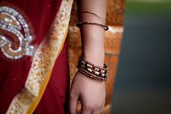 DSCF9367 (tzeyangtan) Tags: deepavali indian traditional red gold details smiles
