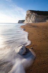 Edge of the Wave (PeteWPhotography) Tags: durdle door rock long exposure lee little stopper