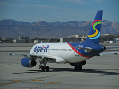 Spirit A319-132 N515NK (kenjet) Tags: spirit lv las klas vegas lasvegas mccarran nk spiritairlines lasvegasmccarraninternationalairport airline airliner flugzeug plane jet transportation aviation departing ramp airport nevada airbus n515nk a319 a319100 a319132 eiecx windjet blue
