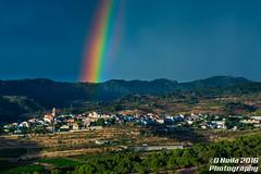 Ulldemolins (dneila) Tags: ulldemolins arcoiris    sky cielo rainbow light