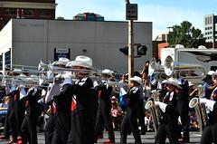 2016 Parade Showband 5 (pokoroto) Tags: 2016 parade showband calgarystampedeshowband people calgarystampede calgary   alberta canada  7   shichigatsu fumizuki bookmonth 28 summer july