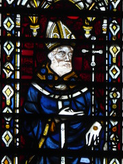 Bishop (Aidan McRae Thomson) Tags: york minster cathedral yorkshire stainedglass window medieval