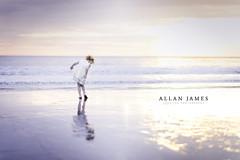 Dancing in the Sand... (Explored) (Allan James Fisher) Tags: sunset bokeh blur dof nikon 85mm wales beach sea water