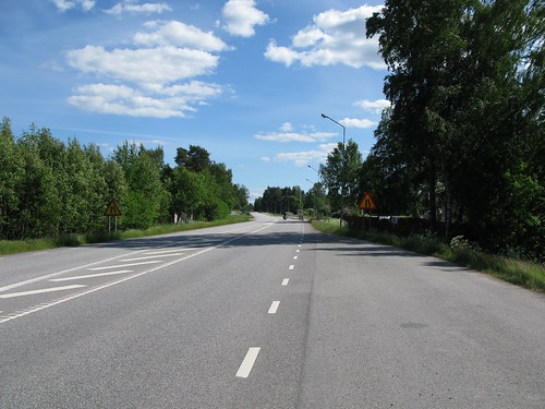 Road 49 in Hultet north of Karlsborg 2010