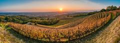 Friulian amphitheater (Ettore Trevisiol) Tags: ettore trevisiol nikon d300 nikkor 18 70 landscape friuli italy hills colline aquila del torre savorgnano italia autunno autumn tramonto sunset