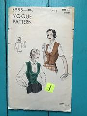 IMG_5694 (kittee) Tags: kittee vintagesewing vintagepattern